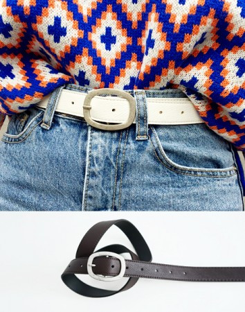 memorize antique buckle-belt